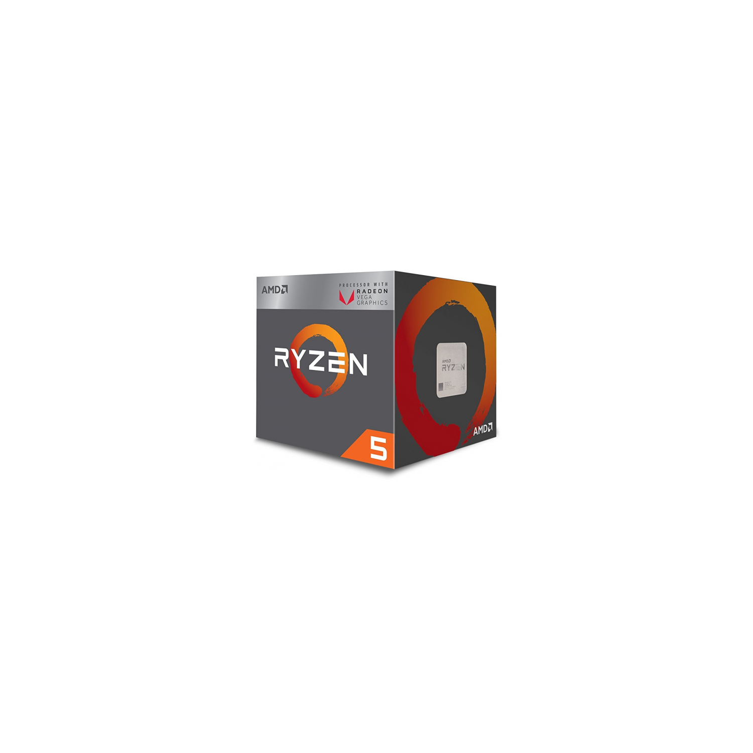 Amd Ryzen 5 2400g Processor With Radeon Rx Vega 11 Graphics Cpu Computer Processors Best Buy Canada