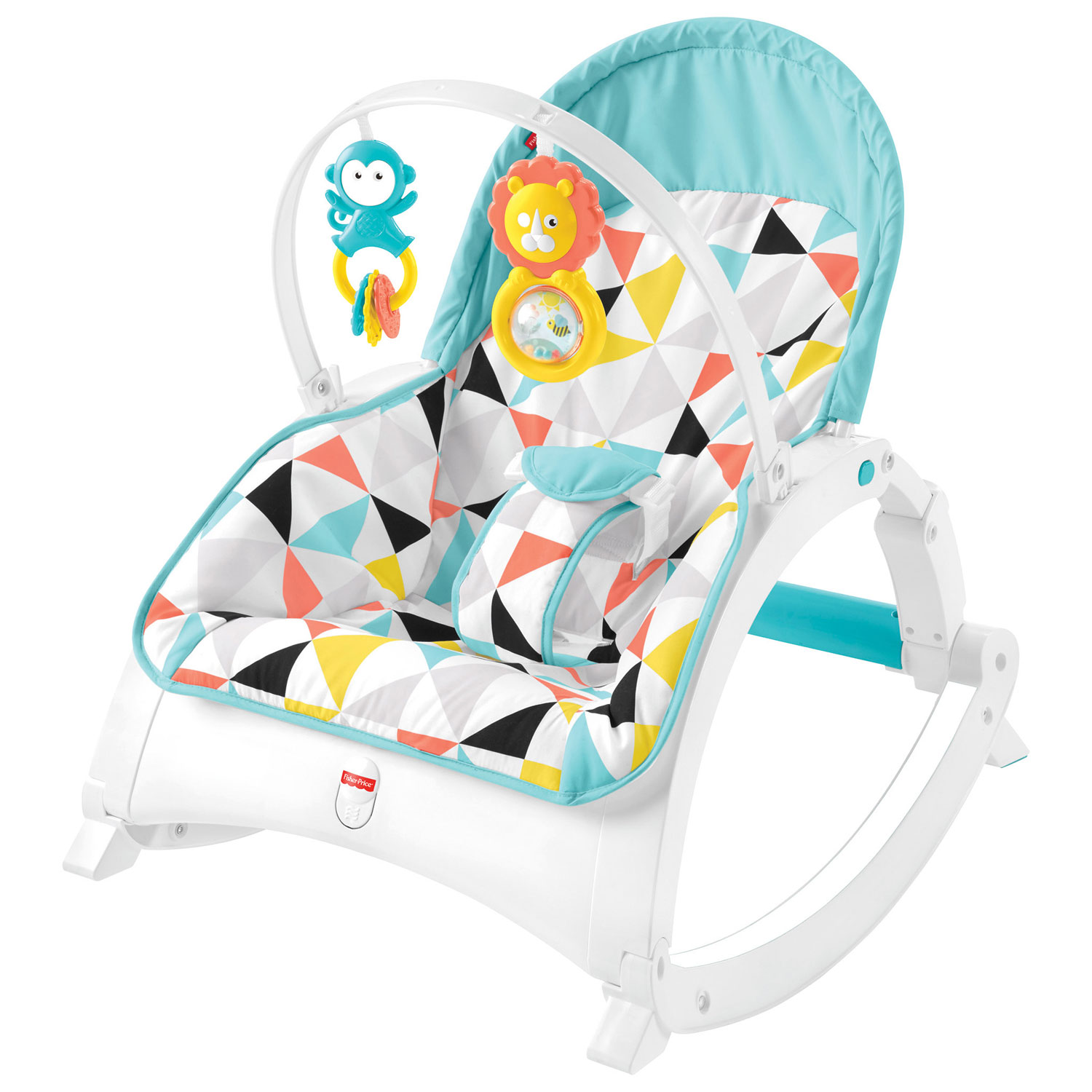 Fisher Price Newborn To Toddler Portable Rocker Bouncers Swings Infant Learning Toaster Best Buy Canada