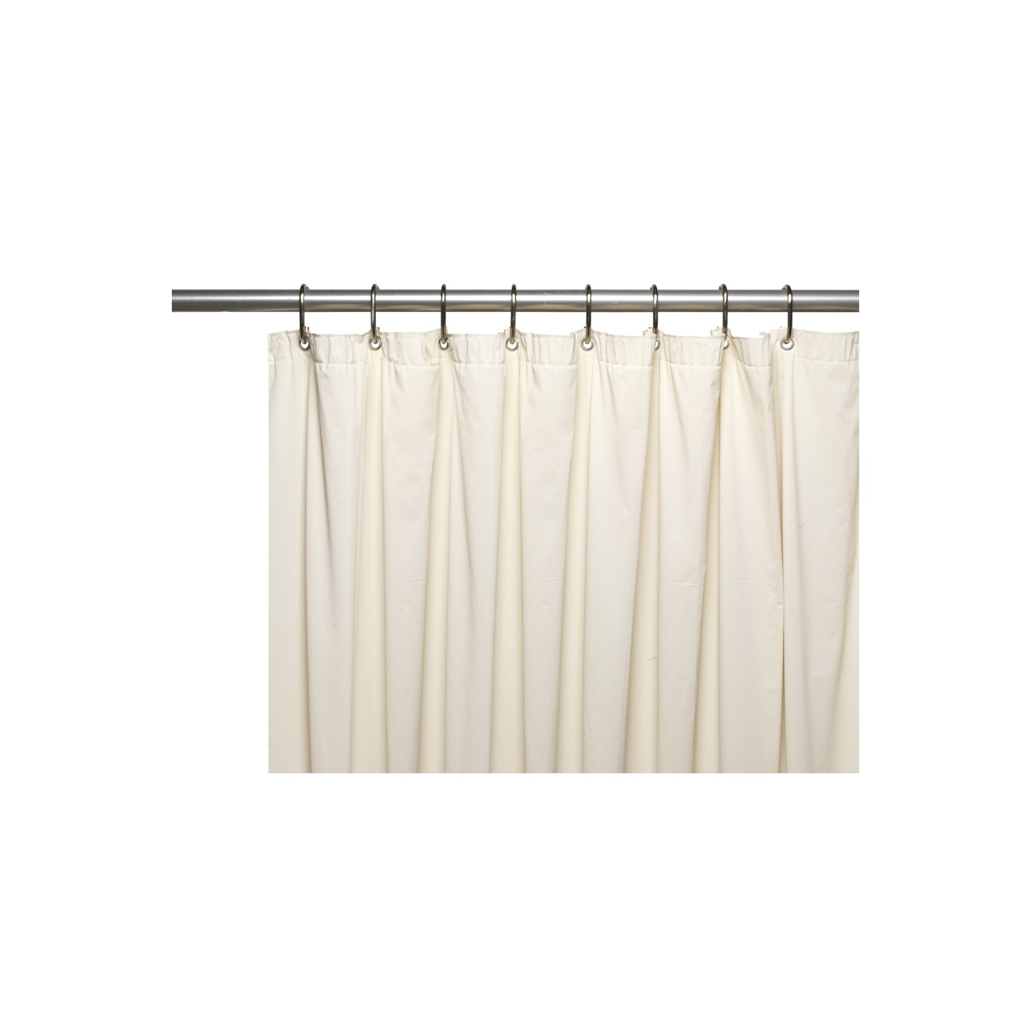 American Crafts 8 Gauge Hotel Collection Vinyl Shower Curtain Liner With Metal Grommets