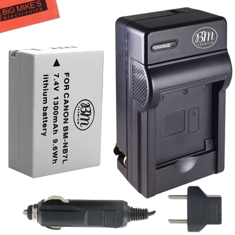 Chargeur NB-7L pour Canon PowerShot G10 G12 SX30 is G11