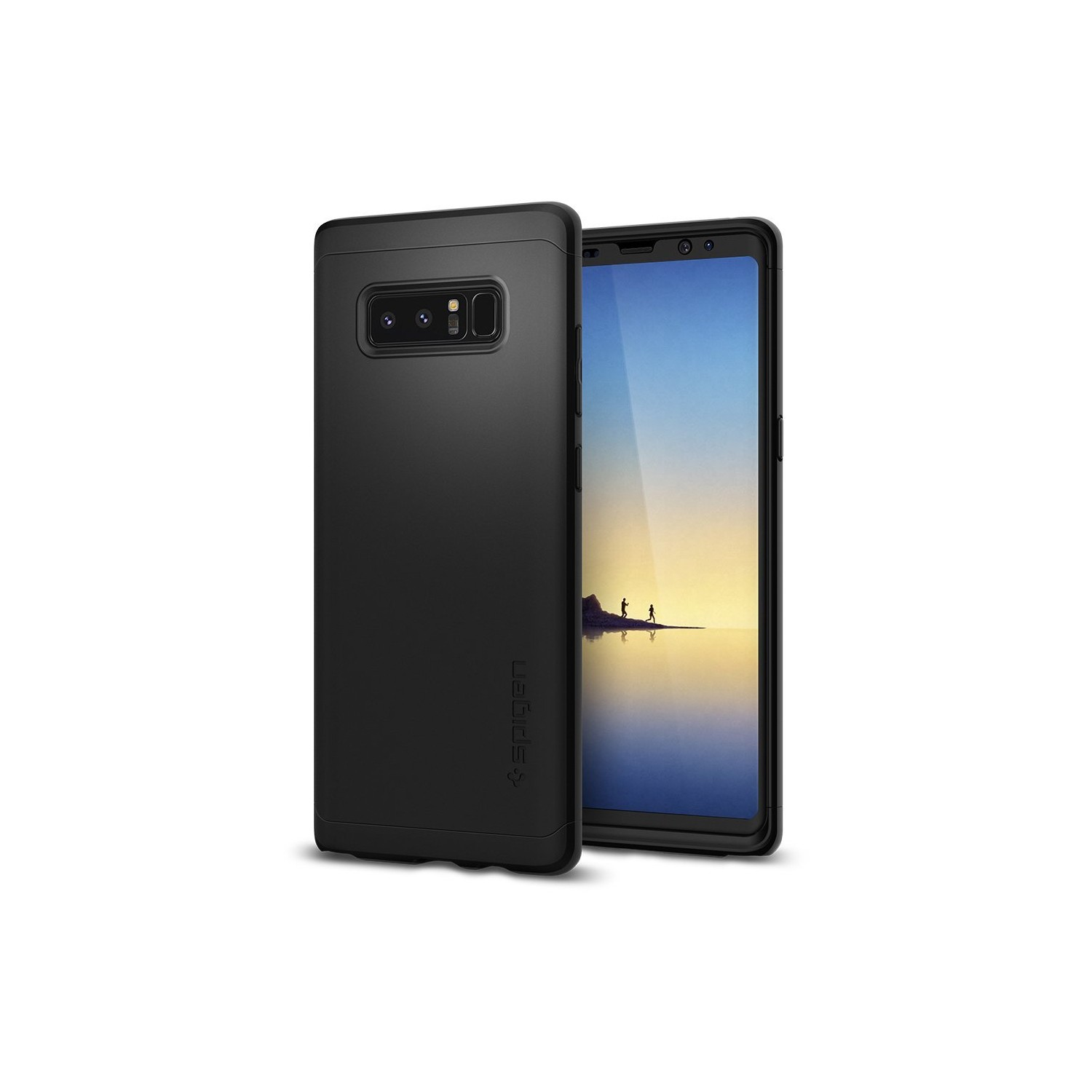 Galaxy Note 8 Case, Galaxy Note8 Case, Spigen Thin Fit 360 - Exact Slim  Full Cover Protection Case with Tempered Glass Screen - Online Only 4070bcb0083e