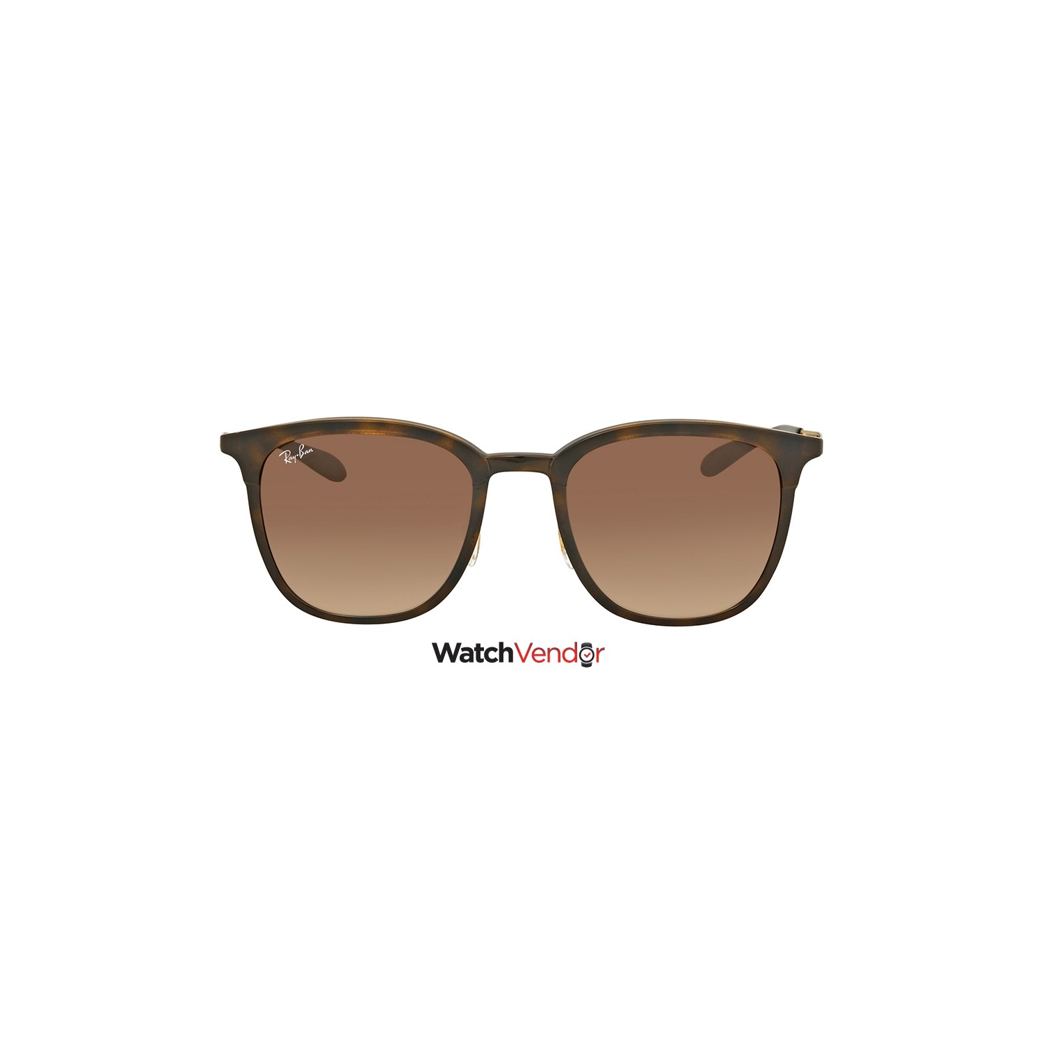 54de123564d Ray Ban Brown Gradient Square Sunglasses RB4278 628313 51   Sunglasses -  Best Buy Canada