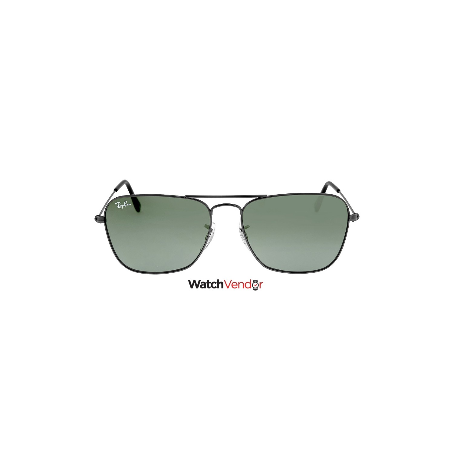 0033cc7975 Ray-Ban Caravan Green Classic G-15 Gunmetal Sunglasses RB313600455 - Online  Only