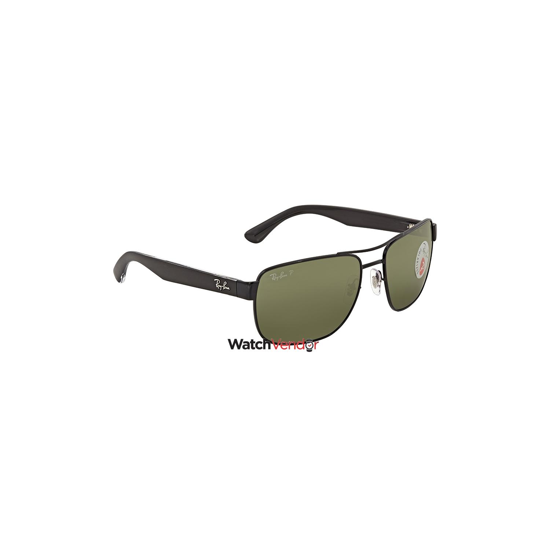 03224dbea52a6 Ray Ban Polarized Green Classic G-15 Square Men s Sunglasses RB3530 002 9A  58   Sunglasses - Best Buy Canada