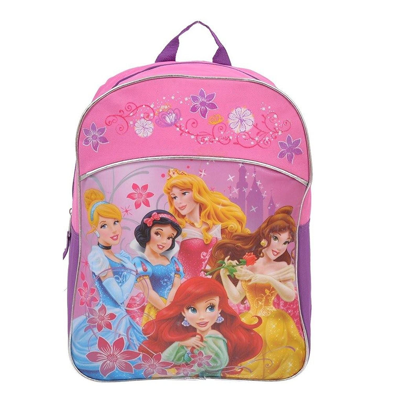 f277687963a Disney Princess Kids Backpack 15 Inch School Bag  Pink    Backpacks ...