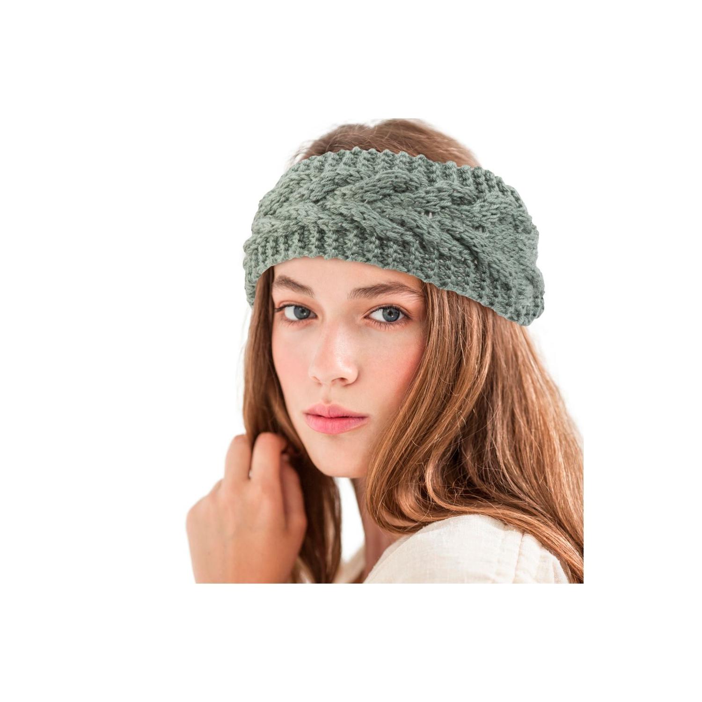 5fd5b9f1105 Zodaca Women Knit Crochet Headband