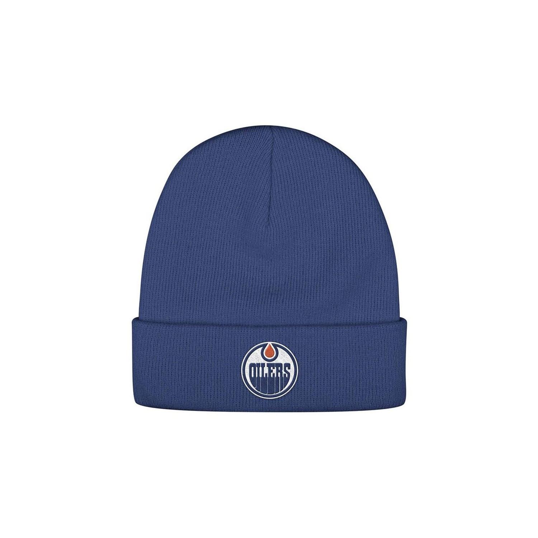 e36c21c46e5 Edmonton Oilers Cuffed Knit Beanie   NHL Memorabilia   Collectibles - Best  Buy Canada