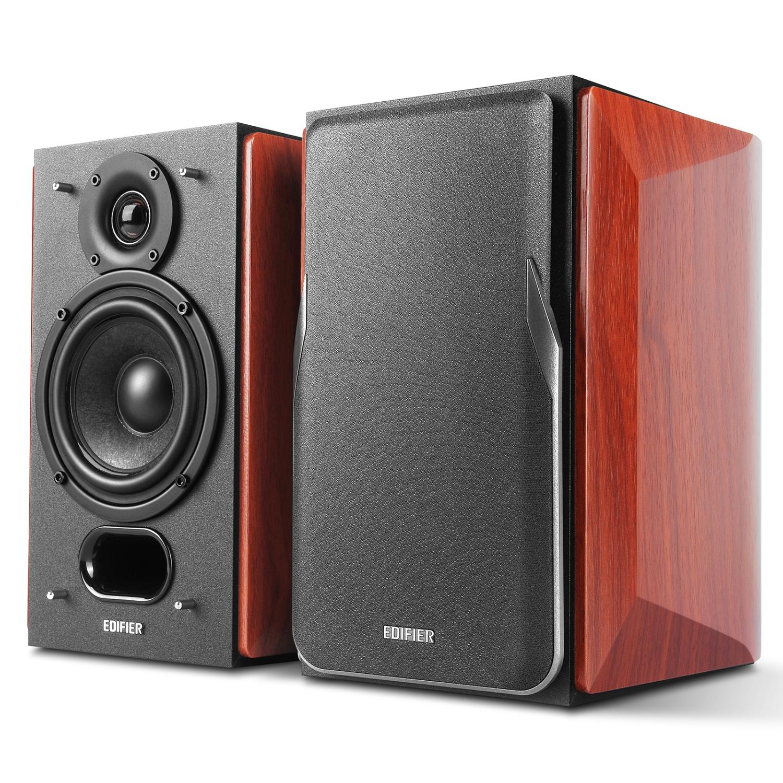 Edifier P17 Passive Bookshelf Speakers - 2-way Speakers with Built ...