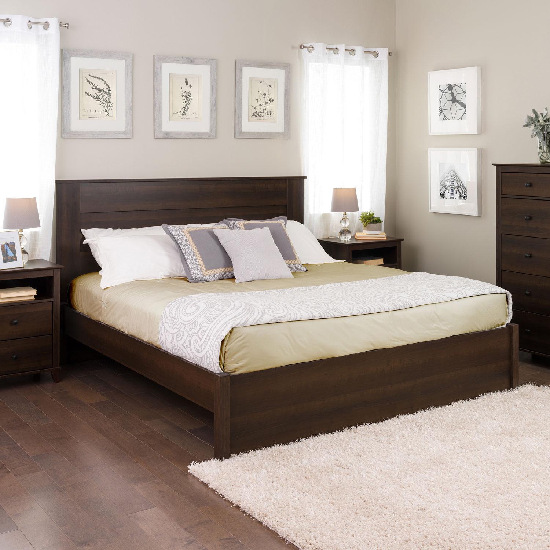 select modern platform bed king espresso beds \u0026 bed frames