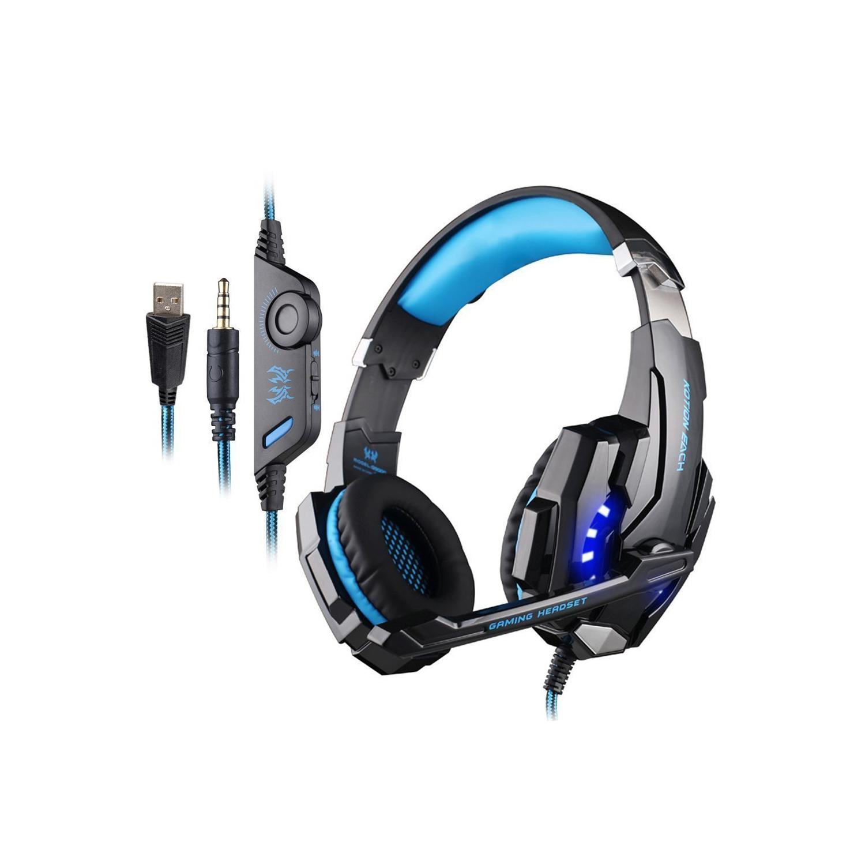 Justdodo Casque USB avec Microphone Rotatif r/églable annuleur de Bruit Ecouteur Call Center Headset pour PC Portable Noir