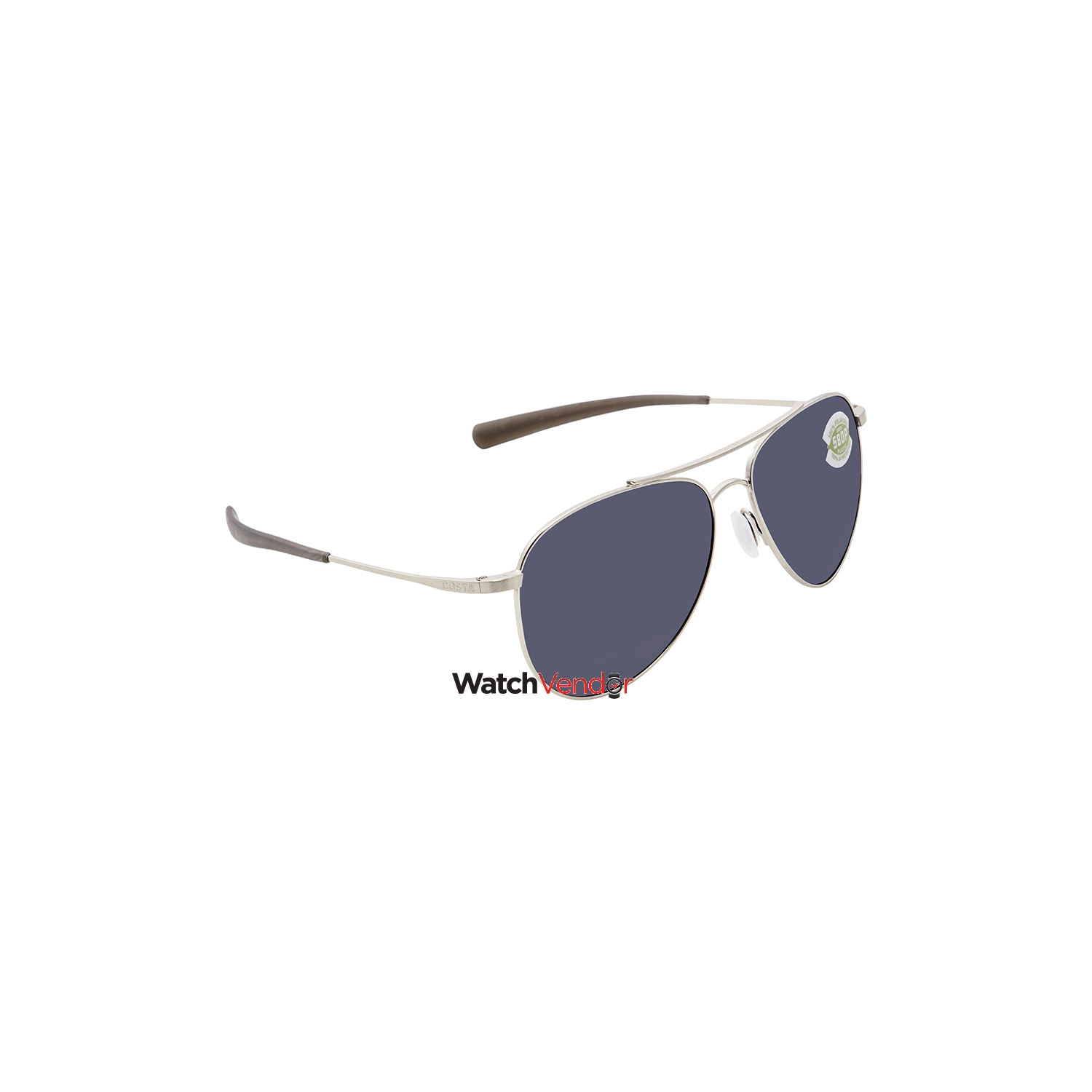 8563cbae7e4 Costa Del Mar Cook Grey 580P Aviator Sunglasses COO 21 OGP - Online Only