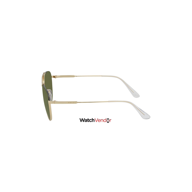 b00fcbab6790 Prada Green Aviator Sunglasses PR 50US 5AK1I0 56   Sunglasses - Best Buy  Canada