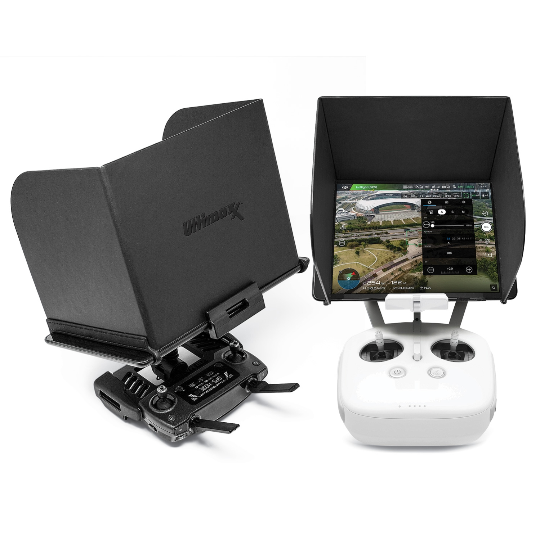 Ultimaxx Phone Monitor Sun Shade Cover Tablets Pad Hood For Dji Phantom 4 3 Mavic Pro Inspire Osmo M600 Monitor Remote Con Best Buy Canada