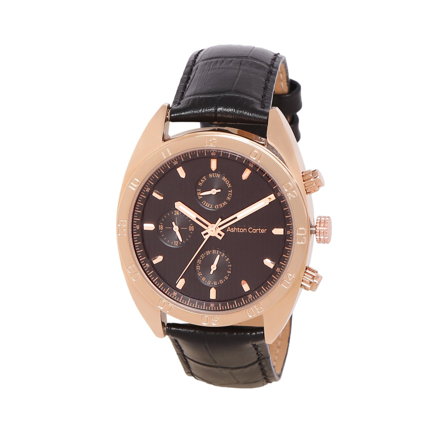 adb8385d257 Ashton Carter Multi Function Gold   Black Watch - AC-1002-A - Online Only