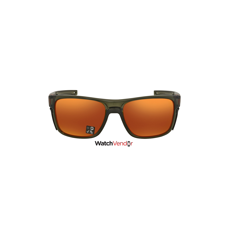 04ee3eaddb555 Oakley Crossrange Prizm Ruby Rectangular Men s Sunglasses OO9361 936111 57  - Online Only