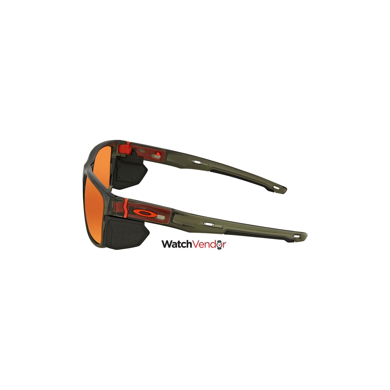 568eb570111d0 Oakley Crossrange Prizm Ruby Rectangular Men s Sunglasses OO9361 936111 57    Sunglasses - Best Buy Canada