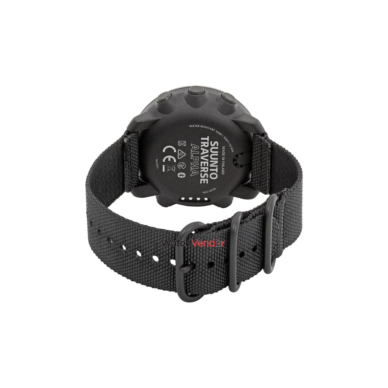 Suunto Traverse Alpha Multifunction Outdoor Watch Ss023157000 Mens Black Watches With Gps Glonass Best Buy Canada