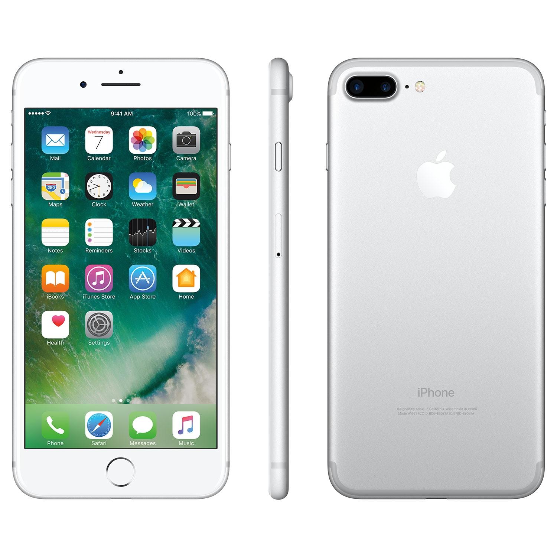 Apple Iphone 7 Plus 128gb Smartphone Silver Unlocked Certified Pre Owned Best Buy Canada