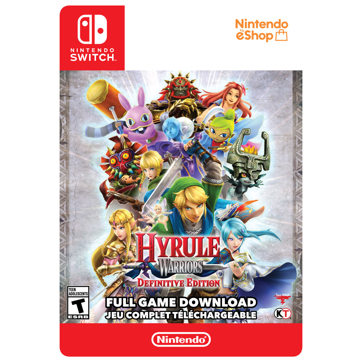 Hyrule Warriors Definitive Edition Switch Digital Download Best Buy Canada