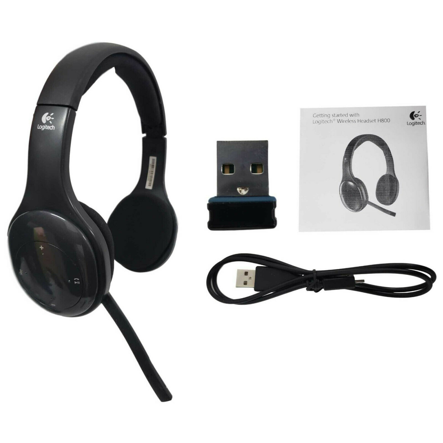 Logitech H800 Wireless Computer Headset Noise Cancellation 981 000337 Certified Refurbished Best Buy Canada
