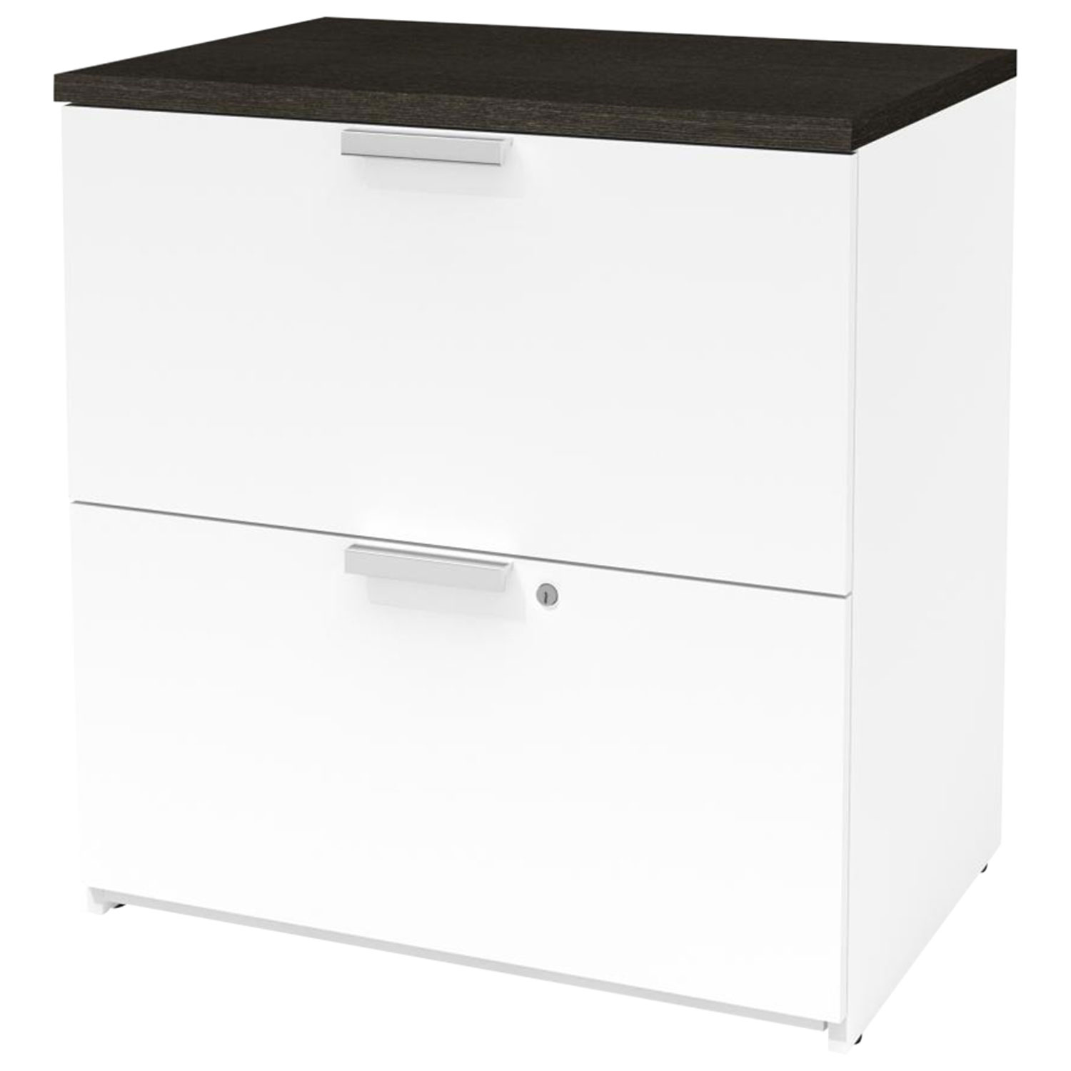 Image of: Pro Concept Plus 2 Drawer Lateral File Cabinet White Deep Grey Best Buy Canada