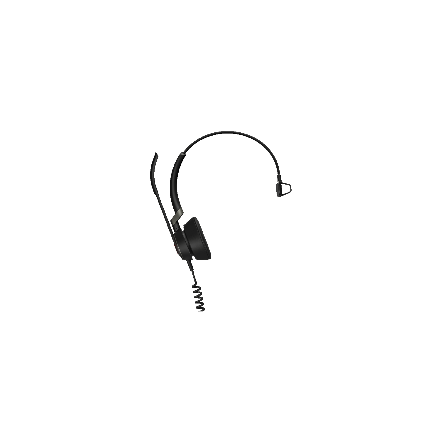 Jabra Engage 50 Stereo On Ear Noise Cancelling Headset With Mic Black 5099 610 189 Best Buy Canada