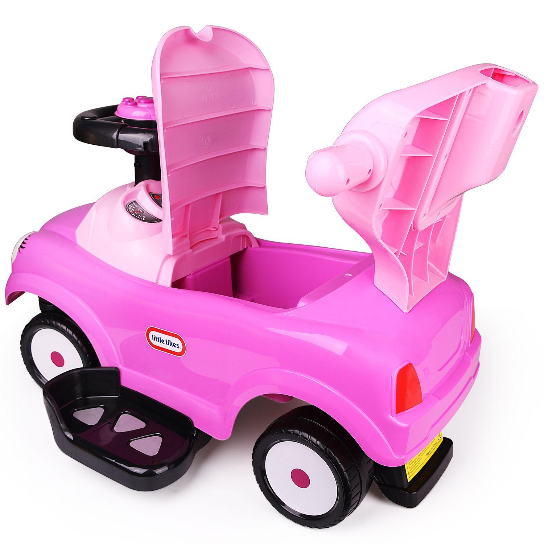 Freddo Easy Wheel Quick Coupe 3 in 1 Ride on Push Car Purple