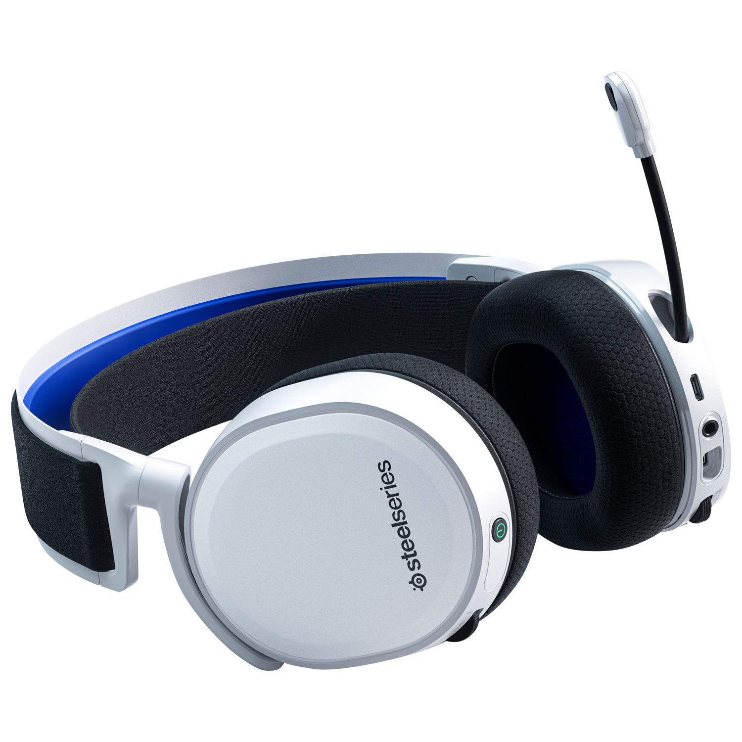 Steelseries Arctis 7p Wireless Gaming Headset For Playstation 5 White Best Buy Canada