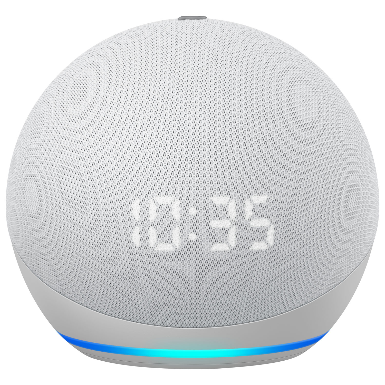 Echo Dot 4th Generation Smart Speaker with Alexa & Clock