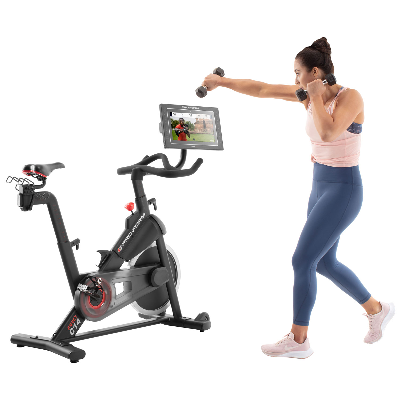 Connected cardio equipment