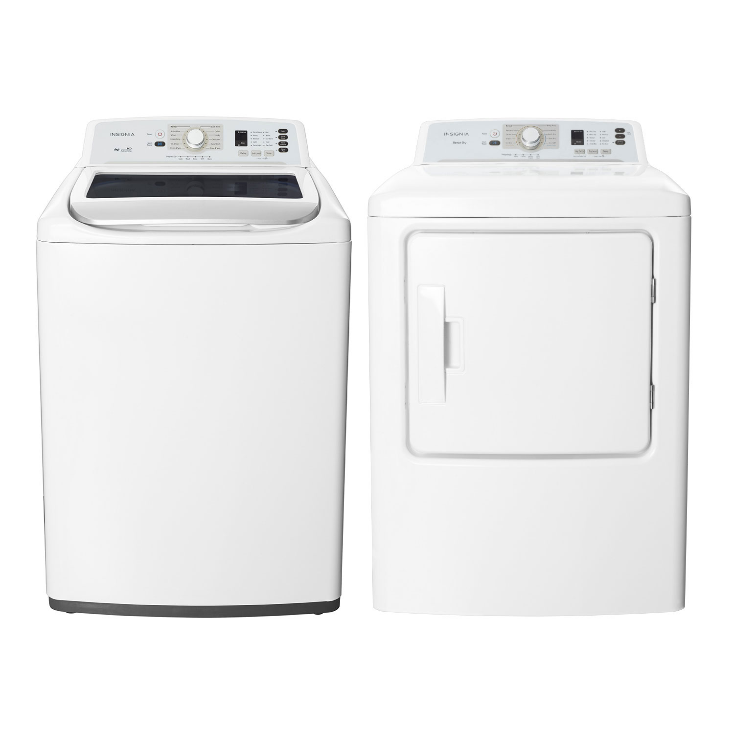 Work surface for washer and dryer - Ft Top Load Washer And 6 7 Cu Ft Front Load Electric Dryer White