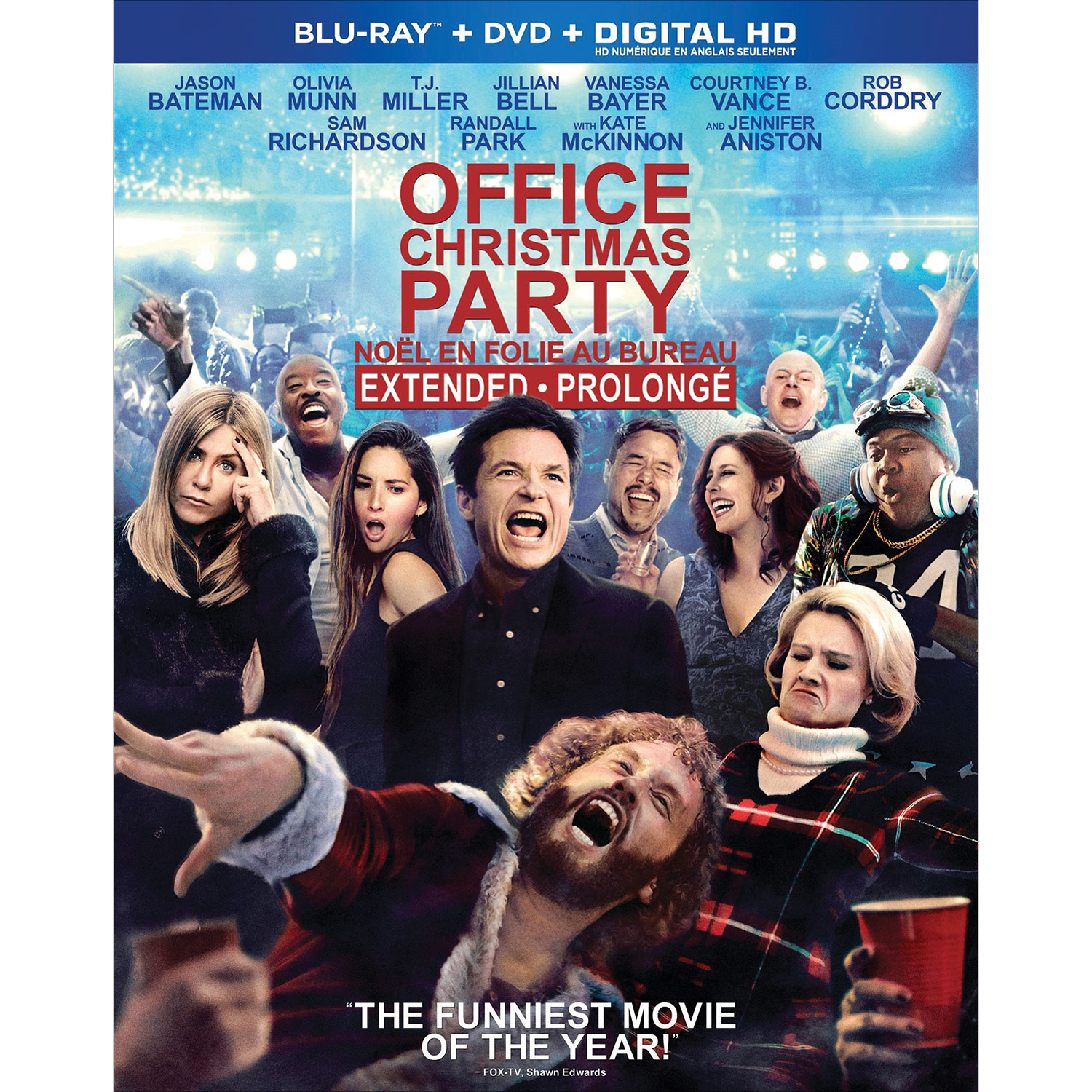 Office Christmas Party (Blu-ray Combo) (2016) : Comedy - Best Buy Canada