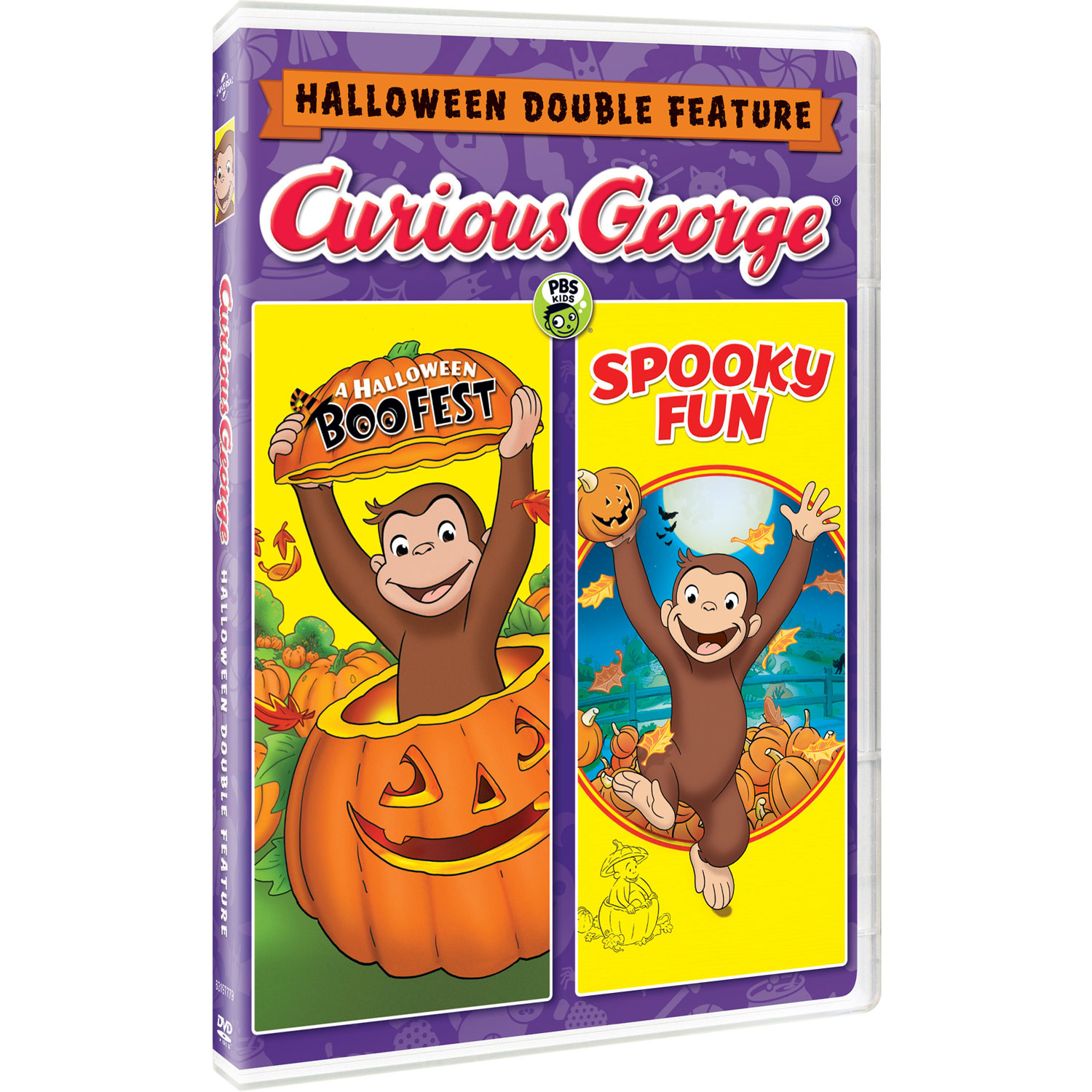 curious george halloween boofest / spooky fun (english) : family