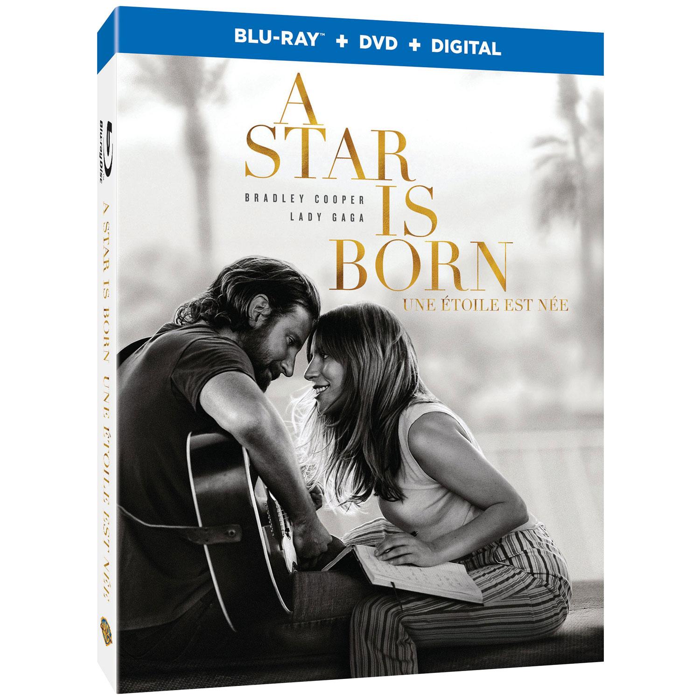 A Star Is Born (English) (Blu-ray Combo) (2018) : Drama Movies Blu-ray -  Best Buy Canada