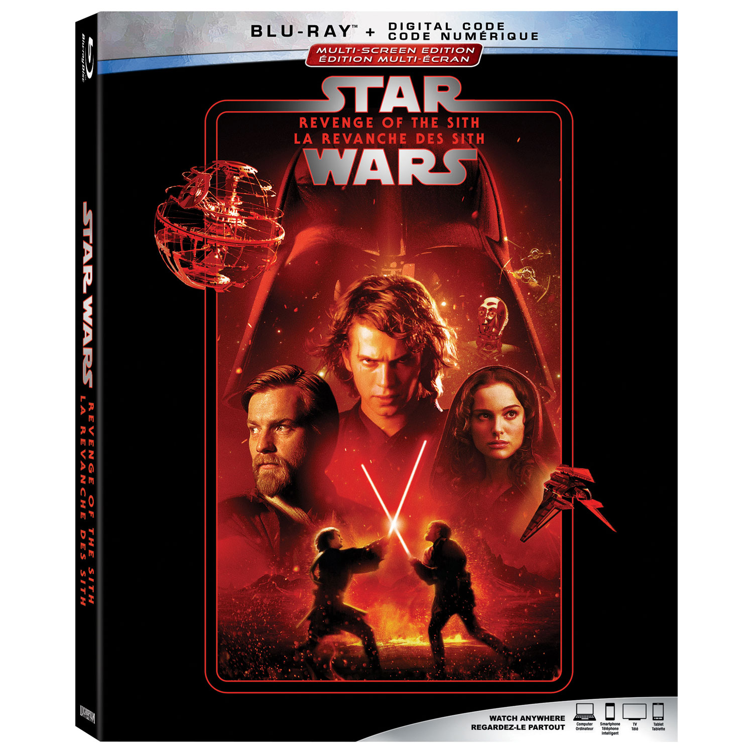 Star Wars Revenge Of The Sith Blu Ray Best Buy Canada