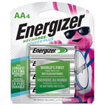 "Energizer NH15BP4 4-Pack ""AA"" NiMH Rechargeable Batteries"