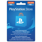 PlayStation Network $50 Prepaid Card - In-Store Only