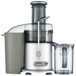 Breville Juice Fountain Plus Centrifugal Juicer - Silver