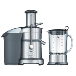 Breville Juice & Blend Centrifugal Juicer - Silver