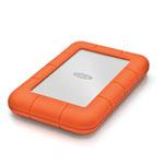 LaCie Rugged Mini 1TB External Hard Drive - Orange