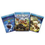 LG 3D Blu-ray Family Fun Pack (AB-3DFAMP)