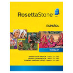 Rosetta Stone Spanish (Latin America) Level 1-5