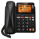 AT&T Corded Phone With Answering Machine (CL4940) - Black