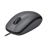 Logitech M100 USB Optical Mouse (910-001648) - Charcoal