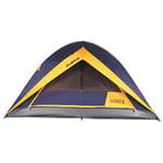 World Famous Spectrum 6-Person Square Dome Tent - Cobalt/ Grey/ Gold