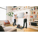 Geek Squad Premium Television Set Up Service (50'' and below) (Inc. Wall Mounting)
