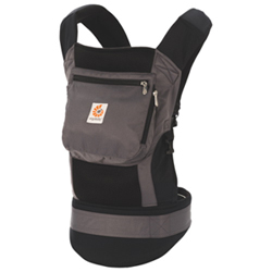 Ergobaby Performance Baby Carrier - Black/Charcoal