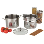 Paderno 8L Stainless Steel Stock Pot - Silver