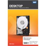 "WD 500GB 3.5"" 7200RPM SATA Desktop Internal Hard Drive (WDBH2D5000ENC-NRSN)"