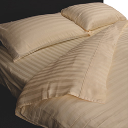 Maholi Damask Stripe Collection 300 Thread Count Egyptian Cotton ...